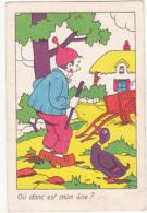 Chromo/ Image - Où Donc Est Mon âne? - Trade Cards