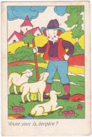Chromo/ Image - Voyez Vous La Bergère? - Trade Cards