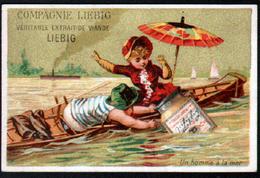 Chomo Liebig, S100, Promenade En Bateau - Liebig
