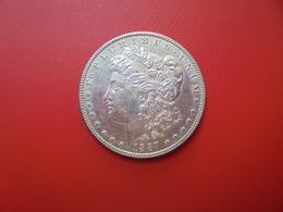 U.S.A 1 DOLLAR 1887 ARGENT  QUALITE : VOIR PHOTOS ! - Federal Issues