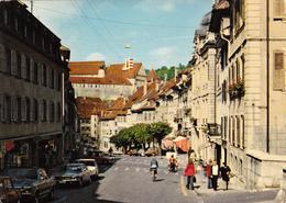 SUISSE,HELVETIA,SWISS,SWITZERLAND,SVIZZERA,SCHWEIZ ,JURA,PORRENTRUY,centre Ville - JU Jura