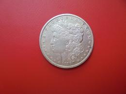 U.S.A 1 DOLLAR 1890 ARGENT  QUALITE : VOIR PHOTOS ! - 1878-1921: Morgan
