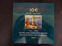 BELGIE 10 EURO NORD ZUID SET 2002 - Belgium