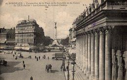 BORDEAUX  PERSPECTIVE DE LA PLAGE - Bordeaux
