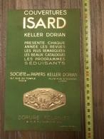 PUBLICITE 1934 COUVERTURE ISARD KELLER DORIAN RUE DU TEMPLE PARIS LYON DORURE FOURNIER CHERCHE MIDI - Collections