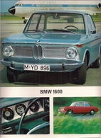 BMW - B.M.W. 1600 - UNE VOITURE DE LA NOUVELLE CLASSE - Advertising