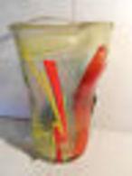 Pointez Sur L'image Pour Zoomer      Grand-vase-MURANO-signer-BADIOLI-1997-HOMAGE-A-PICASSO-HT-35-CM     Grand-vase-MUR - Glass & Crystal