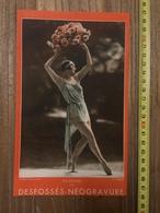 PUBLICITE 1934 DESFOSSES NEOGRAVURE QUAI VOLTAIRE LITTRE RUE FONDARY SEGUR - Collections