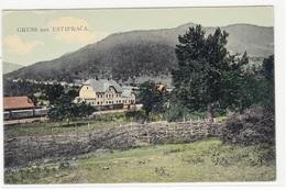 GRUSS AUS USTIPRAČA  1909  POSTCARD K.U.K.MILIT.POST - Bosnie-Herzegovine