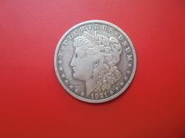 """U.S.A 1 DOLLAR 1921 """"S"""" ARGENT  QUALITE : VOIR PHOTOS ! - 1878-1921: Morgan"""