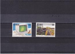 IRLANDE 1985 TECHNOLOGIE Yvert 580-581 NEUF** MNH - 1949-... République D'Irlande