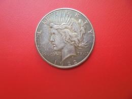 "U.S.A 1 DOLLAR 1922 ""S"" ARGENT  QUALITE : VOIR PHOTOS ! - Federal Issues"