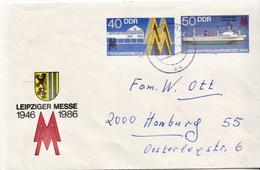 Postal History: Germany / DDR Postal Stationery Cover - Ships