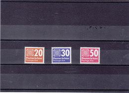 IRLANDE 1985 TAXE Yvert 32-34 NEUF** MNH - 1949-... République D'Irlande