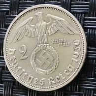 German Empire 2 Reichsmark 1939 (A) - [ 4] 1933-1945 : Third Reich