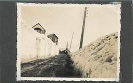 BEUIL (alpes Maritimes) Route D'accès, En 1934 (photo Format 11cm X 8,4cm) - Places