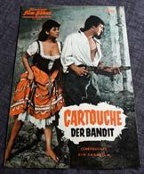 "Altes IFB-Filmprogramm - CLAUDIA CARDINALE & JEAN-PAUL BELMONDO In ""CARTOUCHE Der Bandit"" Mit Odile Versois ... - 181555 - Magazines"