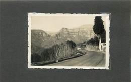 VALLÉE DU LOUP (alpes Maritimes) Gourdon Et Le Bar, En 1934 (photo Format 8,7cm X 6,2cm) - Places