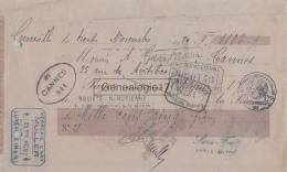 54 1002 LUNEVILLE MEURTHE ET MOSELLE 1920 VERRERIE D ART MULLER FRERES Et PARIS Rue Du Paradis A GAREL - Bills Of Exchange