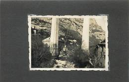 LE PONT DU LOUP (alpes Maritimes)  En 1934 (photo Format 8,7cm X 6,1cm) - Places