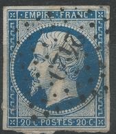 Lot N°42888  N°14A, Oblit PC 2429 Phalsbourg, Meurthe (52), Ind 4, Bonnes Marges - 1853-1860 Napoléon III