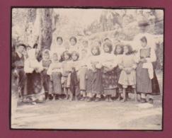 260518A - PHOTO 1905 - GRECE CORFOU Fillettes Jeune Corfiote - Scène Et Type - Grèce