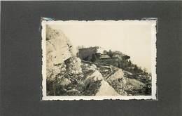 GOURDON (alpes Maritimes)  Le Château, En 1934 (photo Format 8,8cm X 6,2cm) - Places