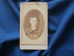 Photo CDV  Anfray Rue Croix Des Petits Champs Paris  Portrait Femme - CA 1885 - L381 - Photographs