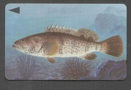 USED PHONECARD BAHRAIN FISH - Bahrain