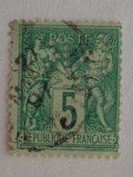 CERES N° 75 OB ET PERFORE L R - 1876-1898 Sage (Type II)