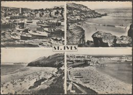 Multiview, St Ives, Cornwall, 1962 - Postcard - St.Ives