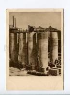 271411 USSR Construction BAKU Distillation Fat Oils 1932 Year - Azerbaïjan
