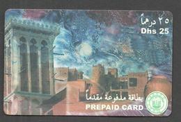 USED PHONECARD UNITED ARAB EMIRATES - Emirats Arabes Unis
