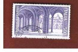 ITALIA REPUBBLICA  - SASS. 1867   -      1989     UNIVERSITA' DI PISA   -      USATO - 6. 1946-.. República