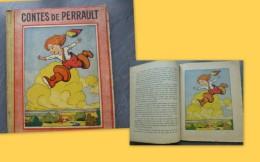 Contes D'e Perrault, Illustré Par Dürst, Gründ,  édition Vers 1930 ; Ref C38 - Livres, BD, Revues