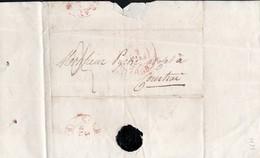 Italie Lettre Envoyé De Gand Vers Courtrai En Date Du  2 Mai 1838 - 1830-1849 (Belgique Indépendante)