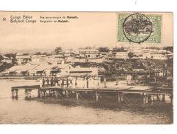 Belgisch Congo Belge Entier Vue 61 Matadi CP 5c + TP Mols 5c C.Lisala 6/1/1919 Non Voyagée PR5223 - Entiers Postaux
