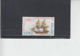 ITALIA  1978 - Sassone  1414°  - Nave - 1971-80: Oblitérés