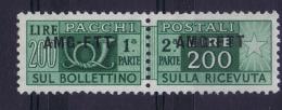Italy  AMG FTT  Pacchi Sa 23 Postfrisch/neuf Sans Charniere /MNH/** - Paketmarken/Konzessionen