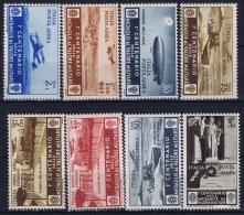 Italy Sa  A75 - A82  Mi 506 - 513  Postfrisch/neuf Sans Charniere /MNH/** But REGUMMED Part Set - 1900-44 Victor Emmanuel III