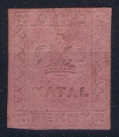 South Africa Natal  SG 2  Mi 2  Yv 1 MH/* Flz/ Charniere Very Nice Borders And Embossing. - Südafrika (...-1961)