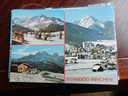1263) S. CANDIDO INNICHEN SKIZEZENTRUM MONTE ELMO TRE VEDUTE VIAGGIATA - Bolzano (Bozen)