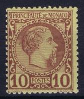 Monaco:  Yv 4  Mi 4 Postfrisch/neuf Sans Charniere /MNH/** - Monaco