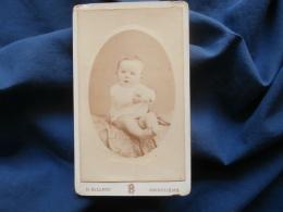 Photo CDV H. Billard à Angoulême  Bébé Vers 1885-90 L382 - Photos