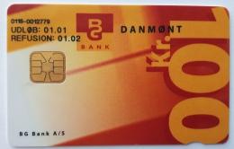 Danmont BG Bank 100 Kr ,lonkonto Exp.Date 01.01 - Denmark