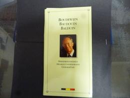 BELGIE MEDAILLE BOUDEWIJN ZILVER PROOF 1993 - Medals