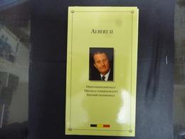 BELGIE MEDAILLE ALBERT ZILVER PROOF 1993 - Médailles