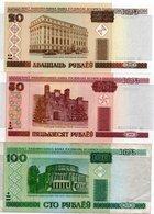 BIELORUSSIA-LOTTO 3 BANCONOTE - Bielorussia