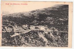 GRUß AUS GRKOVAC KRIVOŠIJE CRNA GORA MONTENEGRO   POSTCARD - Montenegro
