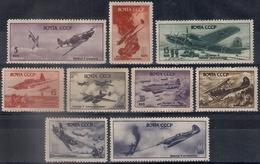 Russia 1946, Michel Nr 1014-22, MLH OG - 1923-1991 USSR